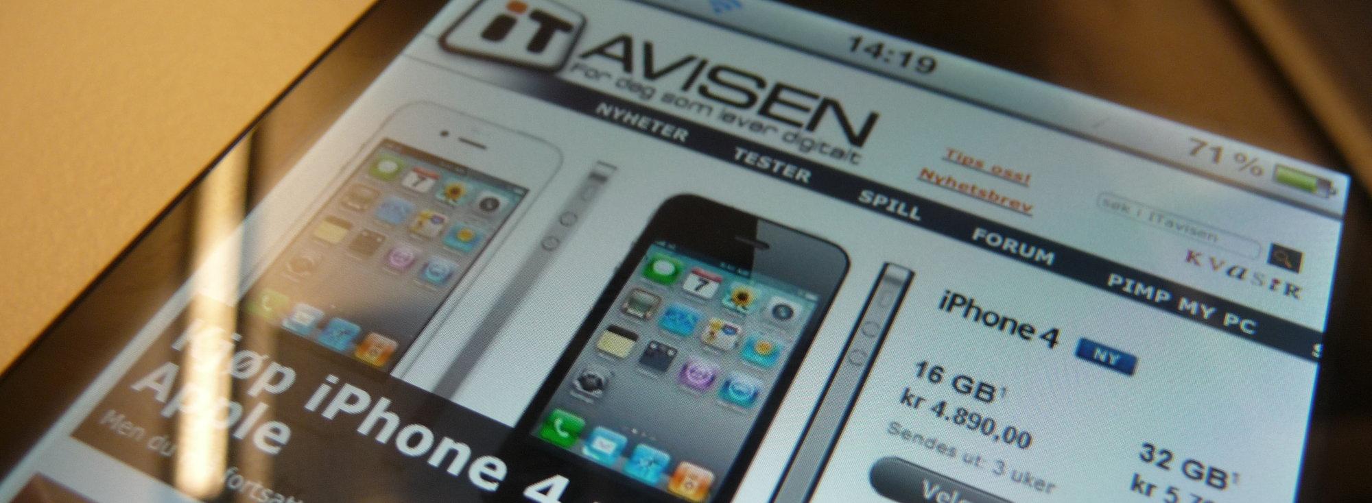 iPhone 4 er ikke lenger mulig å jailbreake. Enn så lenge...