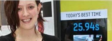 Melissa Thompson er nå regjerende mester i SMS.