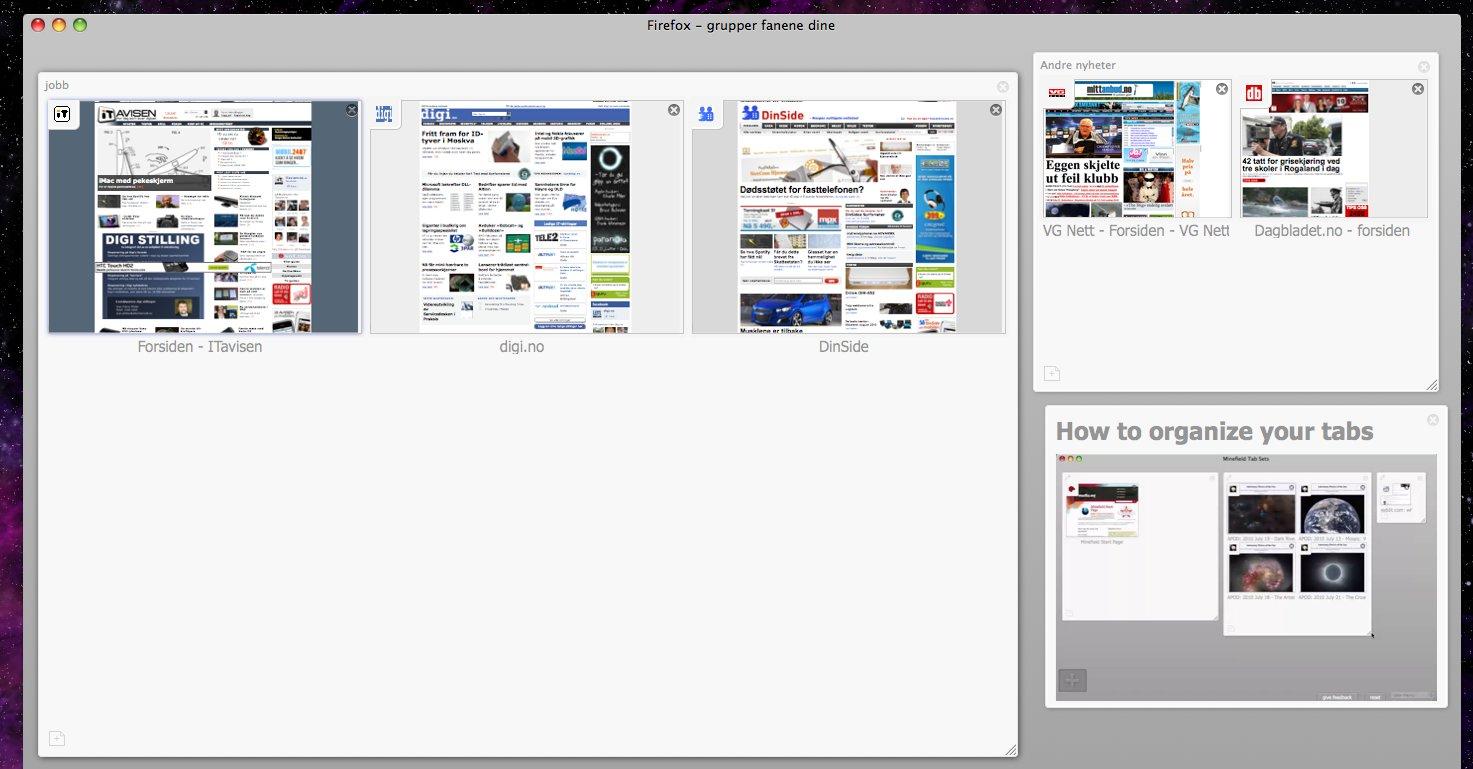 Panorama er en av de smarteste nyvinningene i Firefox 4 og er ikke å finne hos noen av konkurrentene. Enda.
