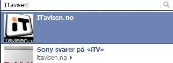 Søkeresultatene på Facebook rangeres nå eller antallet Liker.