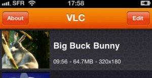 VLC lar deg spille av nær sagt alle formater som er kopiert over på en iPhone, Touch og iPad.