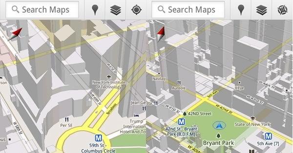 Google Maps 5.0 er gratis og et must for alle med Android.