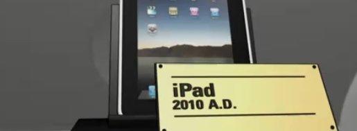 iPad er foreløpig siste steget i en lang, teknologisk utvikling innen tavler med tegn på. Men noe nytt og mye bedre kommer, synes Motorola å hevde.