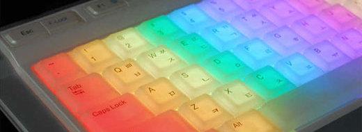 Med dette tastaturet vil du garantert skille deg ut på jobben.