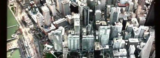 3D-kart av San Francisco laget av svenske C3.