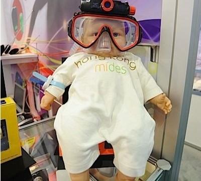 Mini DV dykkerbriller.