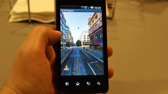 Street View er superkjapp med Tegra 2.
