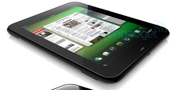 """En intern render av HP/Palms kommende 9""""-tablet."""
