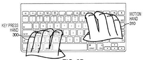 Apples patent på tastatur med kameraer.