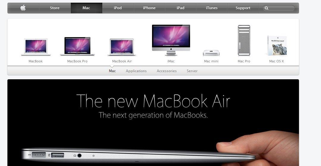 Mac-avdelingen på Apple.com har fått en liten grafisk og designmessig finpuss. Også animasjonene på nettsiden er forbedret.