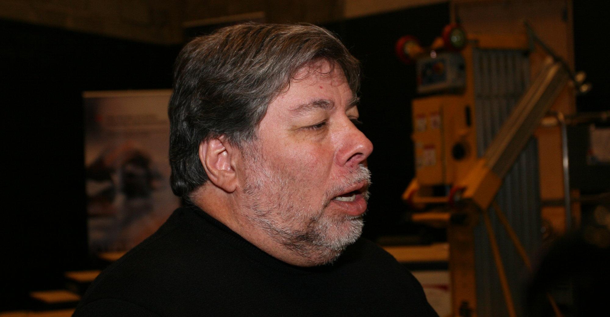 Steve Wozniak startet i sin tid Apple sammen med kameraten Steve Jobs. Nå heier han på «fienden».