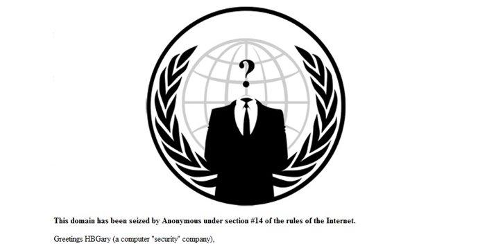 Dette budskapet la Anonymous igjen etter å ha hacket både selskapet og privatetterforskeren som selv hevder de er i hælene på nettaktivistene.