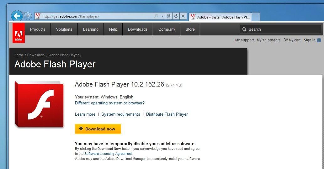 Adobe har den tvilsomme æren av å toppe listen.