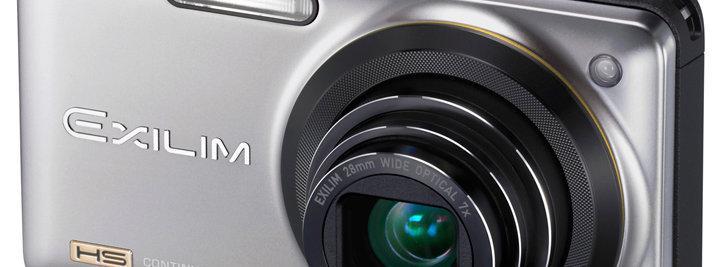 Casis Exilim EX-ZR10 er først ute med NECs støyreduksjon for zoom-linser.
