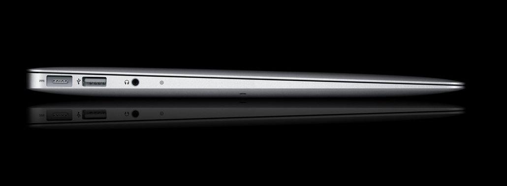 Stadig flere sjefer ønsker seg en tynn, elegant maskin som dette. Og salget til bedriftene øker, selv om Apple har mest fokus på forbrukerne.
