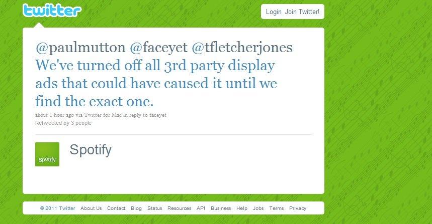 I en Twitter-melding opplyser selskapet at de vedkjenner seg den farlige feilen.