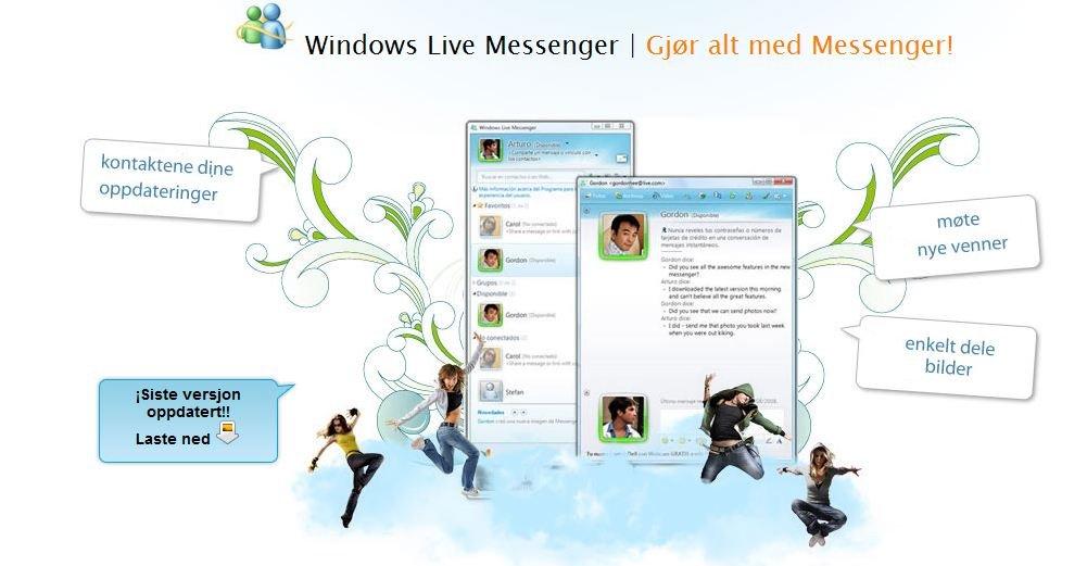 Slik ser lure-siden som lover nye Messenger ut.