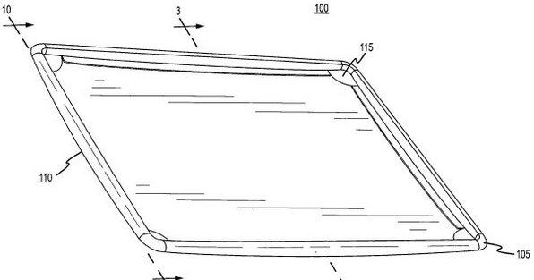 Slik ser Apples forslag til karbon-kabinett for Mac (eller iPad?) ut.