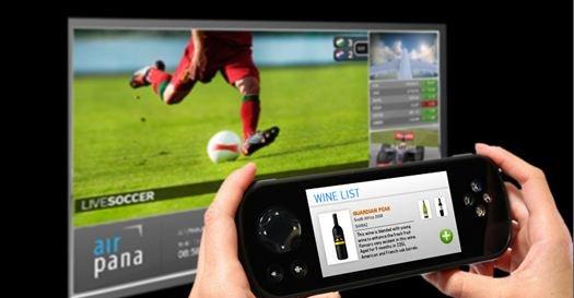 Panasonic lover store 3D-skjermer, rask nettforbindelse og full kontroll på vinlista om bord på flyet.