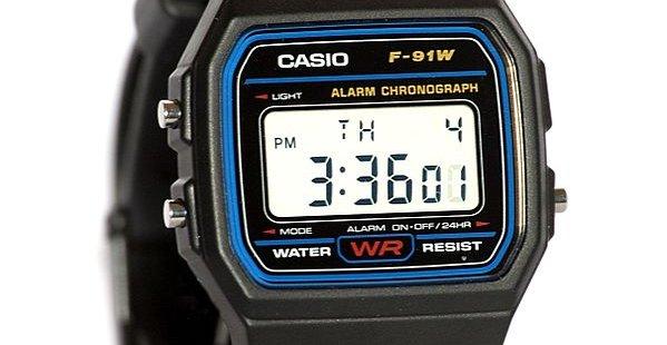 Dette billige Casio-uret ble introdusert første gang i 1991, men selges fortsatt.