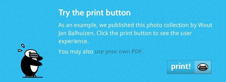 Nederlandske Peeco hjelper deg å skrive ut nettsider i luksuriøse formater.