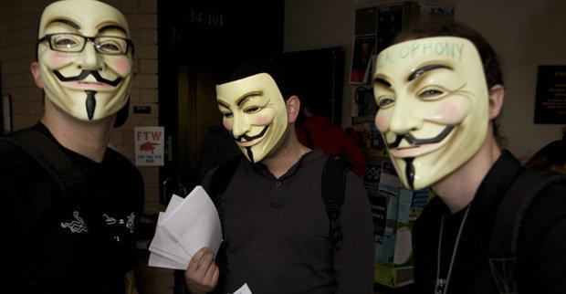 Anonymous vil at DDoS-angrep skal sidestilles med gatedemonstrasjon.