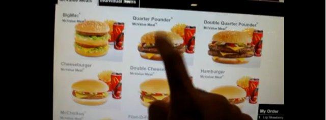 PEK - IKKE SNAKK: Hamburgerservering blir mer effektiv.