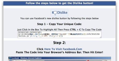 Ikke la deg lure: Det har aldri og kommer trolig ingen Dislike-knapp med det første.