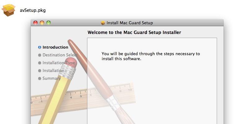 Installasjonsprogrammet åpnes uten å be om passord. Dette kan føre til at folk blir lurt til å installere lureprogrammet MacDefender eller en av dets søsken.