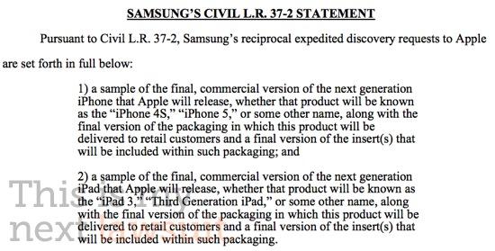 Samsungs rettdokumenter i en juridisk tvist som stadig blir merkeligere