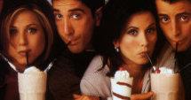 Passe stor vennekrets. Her fra TV-serien Friends.