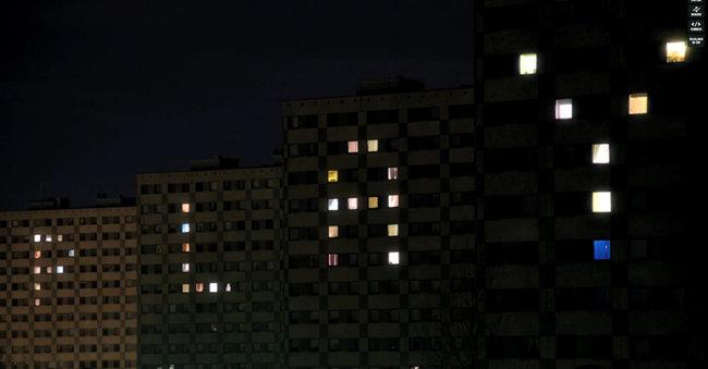Architecture-Lightshow