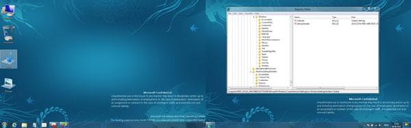 Kanskje er det slik Windows 8 blir når man kjører flere skjermer.