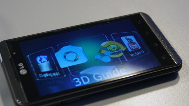 3D-menyen ligger oppå vanlige Android