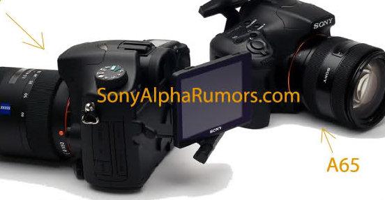 Bilder av de nye speilrefleksene fra Sony er allerede ute på nettet.