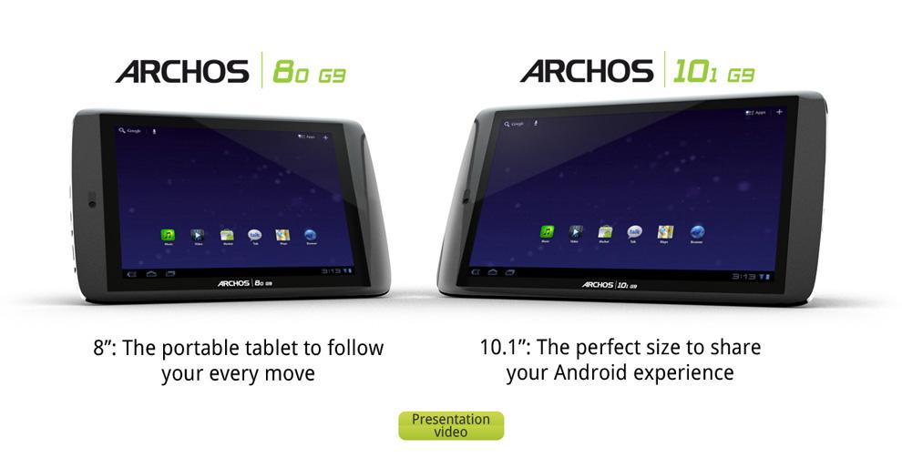 Archos nye nettbrett har 250GB minne og koster under 2000 kroner.