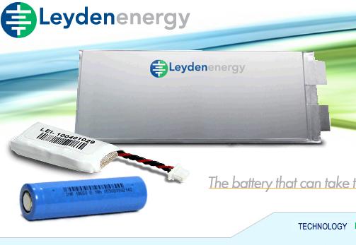 Disse batteriene fra selskapet Leyden Energy vil etter alt å dømme avløse dagens Litium-ion-batterier.
