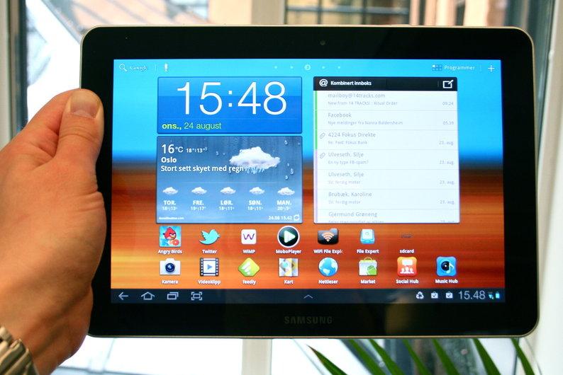 Samsung får lov å selge Galaxy Tab 10.1 i USA likevel.