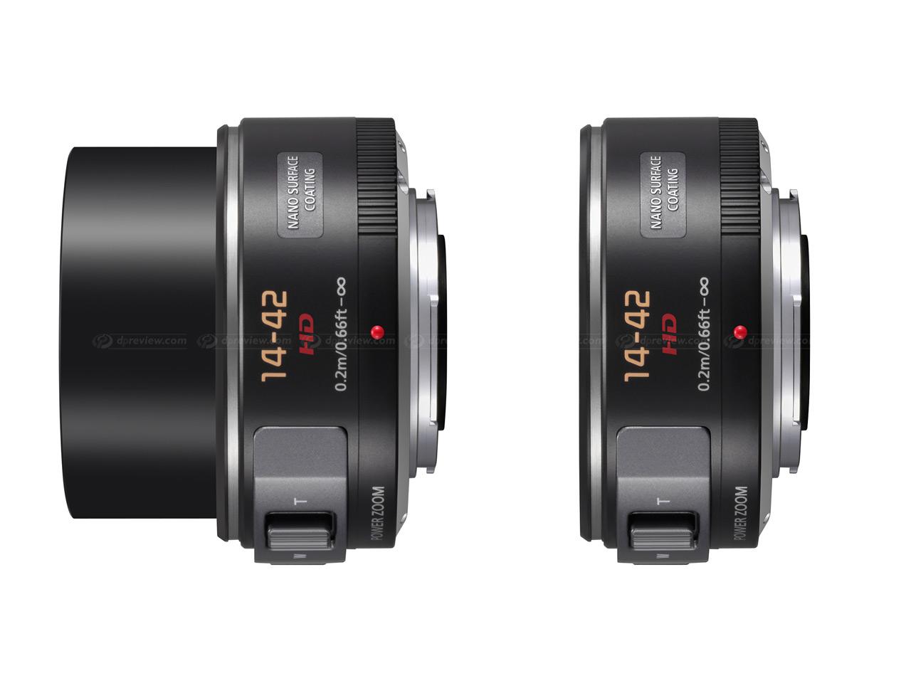 Panasonics nye 14-45 mm zoom er utrolig lett å ta med seg på tur.