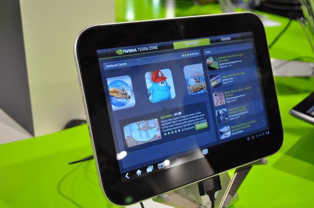 Lenovos Ideapad K1 er en av de mange nettbrettene som vises i Berlin.
