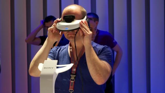 En av de store nyhetene var Sonys Personal 3D Viewer, som lar deg se 3D-film og spille spill i 3D uten at du forstyrrer andre.
