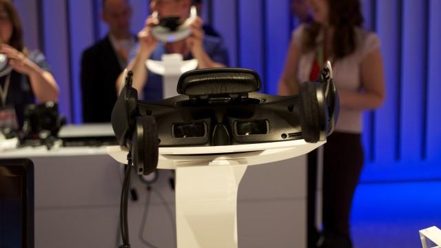 Sonys Personal 3D Viewer sett fra innsiden.