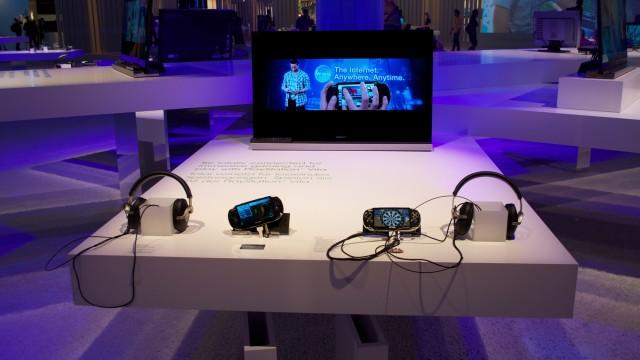 Playstation Vita var blant nyhetene Sony kunne vise fram.