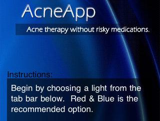 AcneApp lovte å fjerne kviser ved hjelp av lys fra telefonen. Det stemmer ikke, skal vi tro amerikanske forbrukermyndigheter.