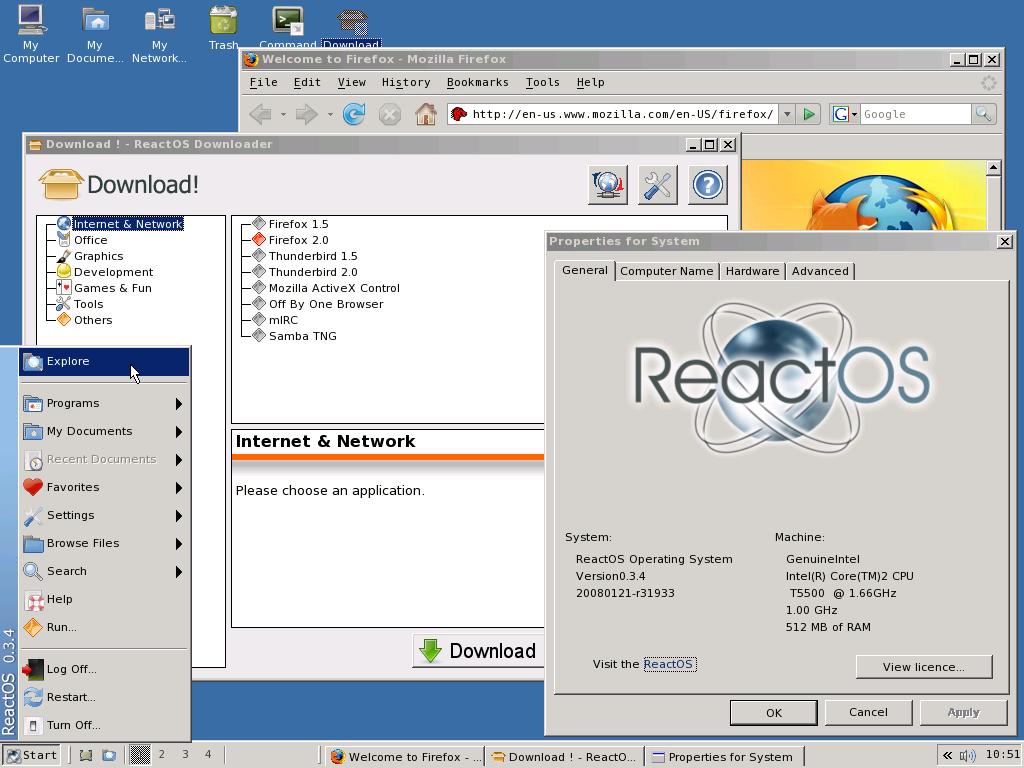 ReactOS er et åpent operativsystem som kjører Windows-programmer. Nå ber utviklerne den russiske regjeringen om støtte.