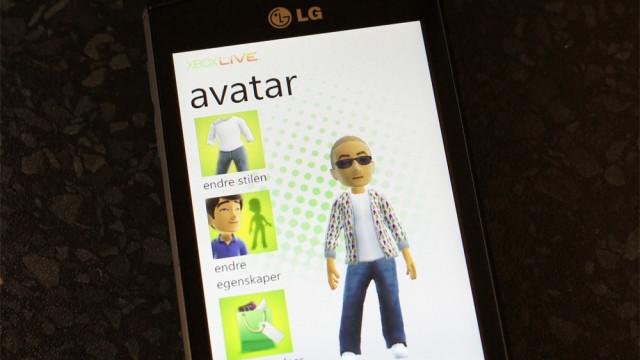 Du kan tilpasse din avatar direkte på telefonen.