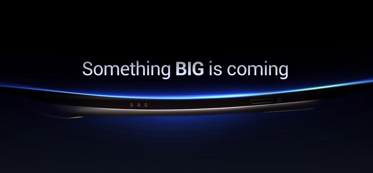 Dette teaserbildet fra Samsung viser i alle fall litt av utformingen.