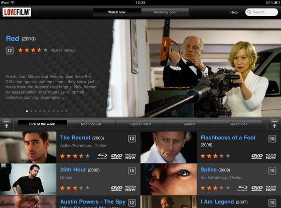 Britiske Loefilm - nå også på iPad.