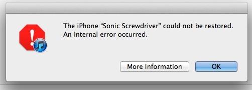 Mang en oppdatering til iOS 5 endte slik i går...