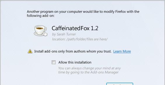 Firefox 8 har bedre sikkerhet i forhold til tredjeparts-utvidelser.